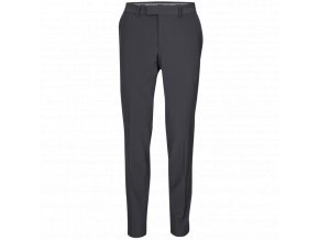 Oscar Jacobson Laurent Trousers black 51537850 310 front normal
