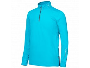 Oscar Jacobson Rock Half zip green 65278925 872 front normal