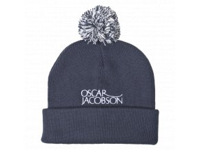 Oscar Jacobson Knitted Golf Hat II blue 90598096 211 front normal