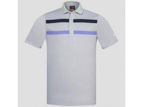Oscar Jacobson Ace Course poloshirt grey 65528075 164 front normal