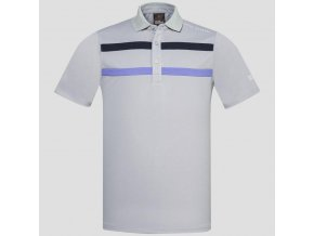 Oscar Jacobson Ace Course poloshirt grey 65528075 164 front normal