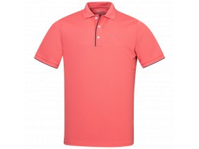 Oscar Jacobson Ivo Pin Poloshirt red 65519058 657 front normal
