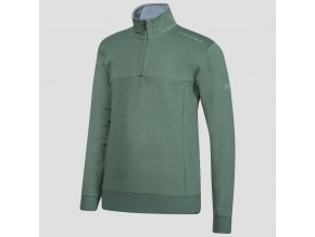 Oscar Jacobson Hawkes Course Half zip green 68067699 831 front normal