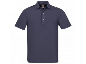 Oscar Jacobson Chap Course Poloshirt blue 66764292 216 front normal