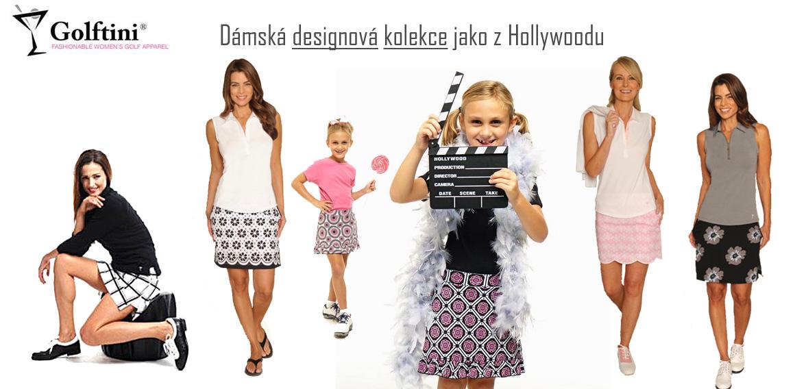 Golftini designové luxusní oblečení pro dámy a dívky