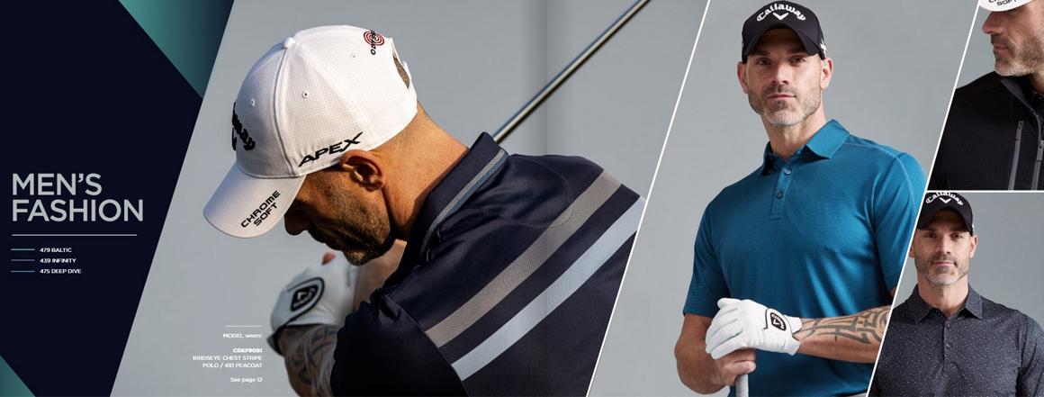 Golfové oblečení Callaway golf skladem