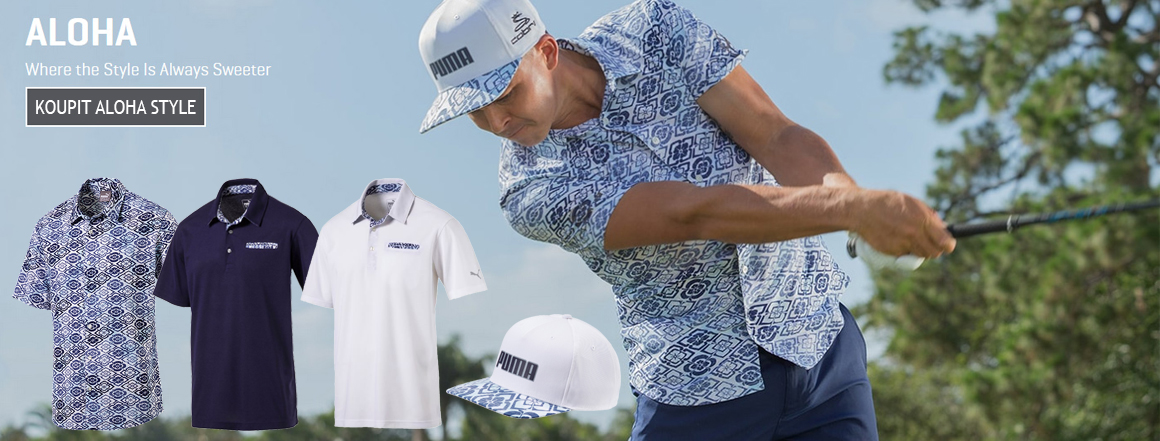 Golfové oblečení Puma Aloha style série