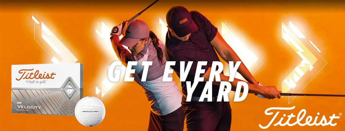 Titleist Velocity golf ball