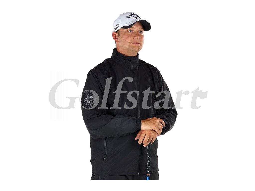 Callaway Waterproof golfová bunda do deště černá