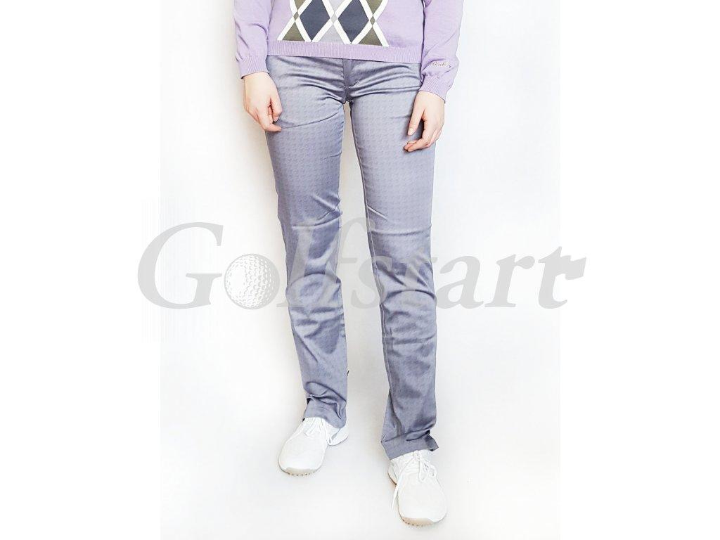 BackTee dámské golfové kalhoty - šedo stříbrné