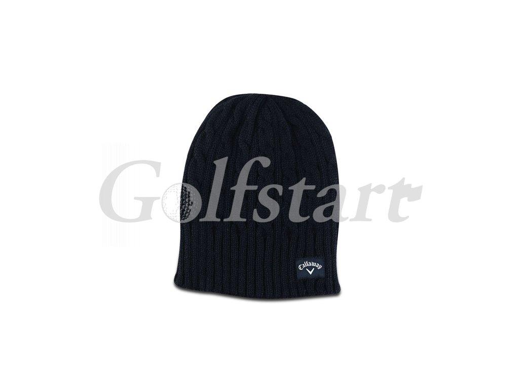Callaway pánská pletená čepice - černá