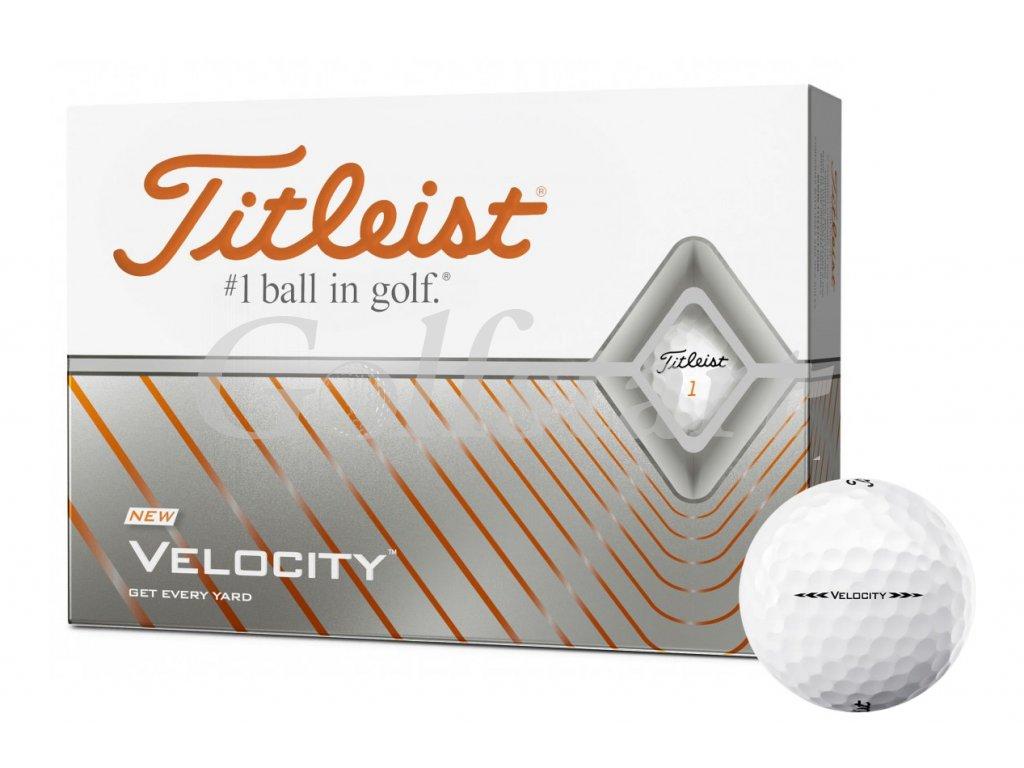 Titleist VELOCITY 2021 golfové míče 12 ks
