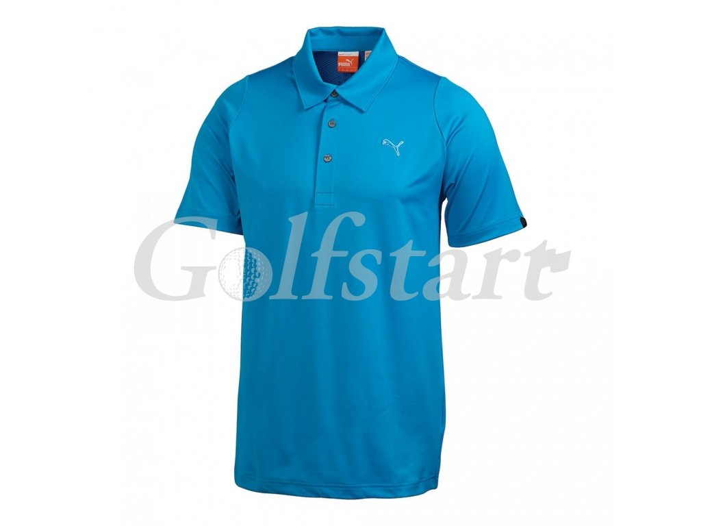 Puma pánské golfové tričko Duo-swing modré