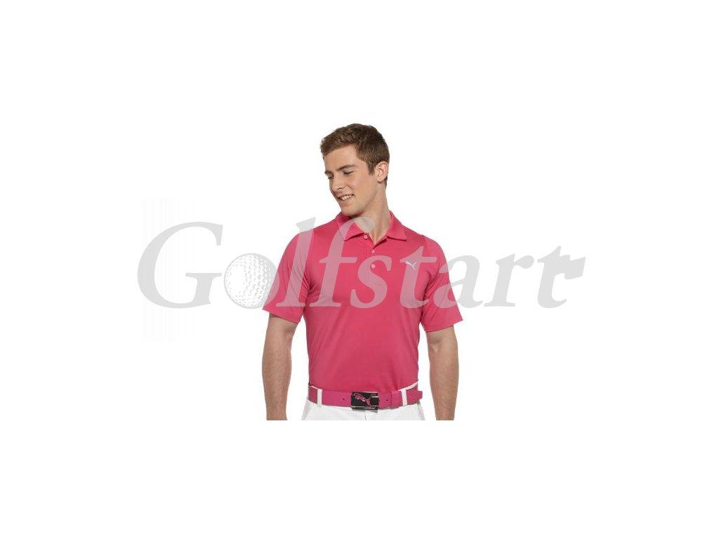 Puma pánské golfové tričko Duo-swing pink