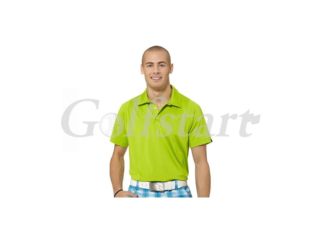 Puma Duo Swing pánské golfové tričko zelené