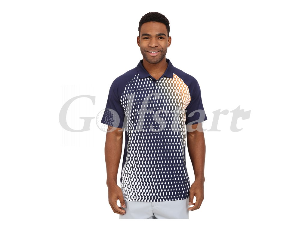 Puma Dimension pánské golfové tričko modré