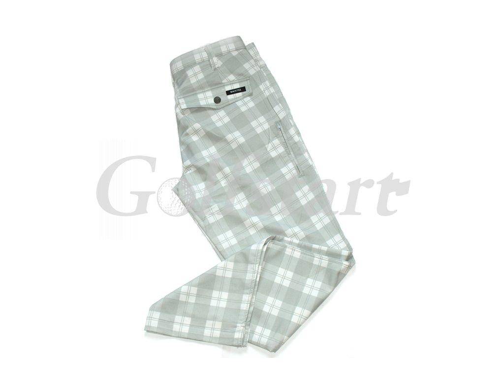 BackTee pánské golfové kalhoty kostkované s úpravou teflon