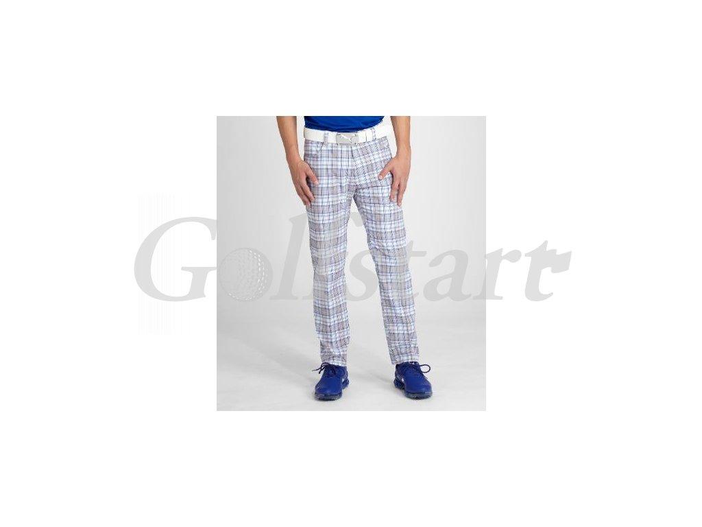 Puma pánské golfové kalhoty s kostkami