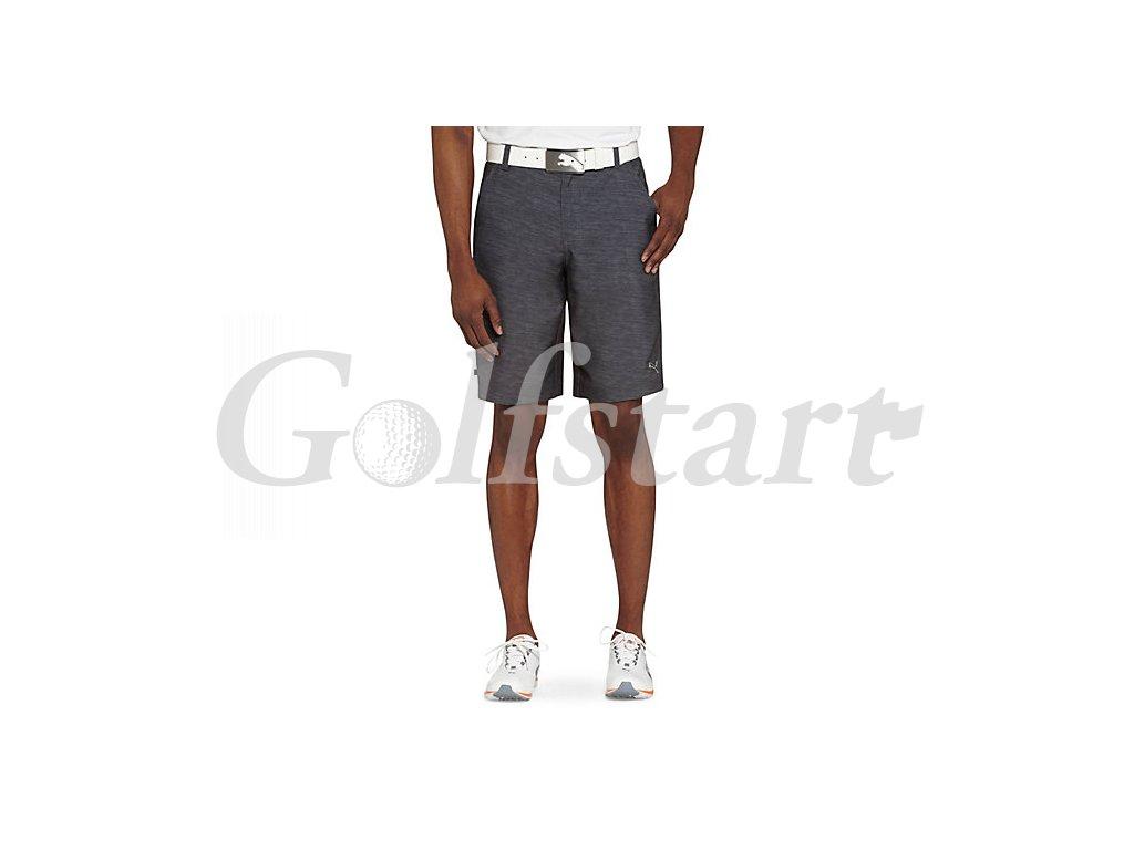 Puma Monolite pánské golfové kraťay černý melír