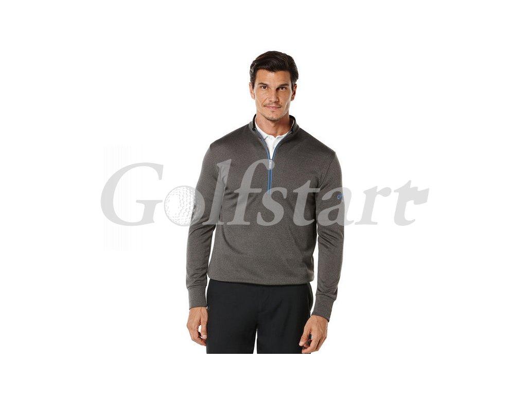 Callaway 1/4 Zip termo pánská golfová mikina šedá