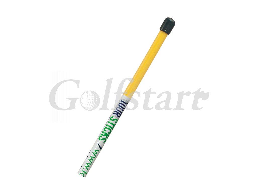 Tour Sticks-pomůcka užívaná profesionály - žlutá