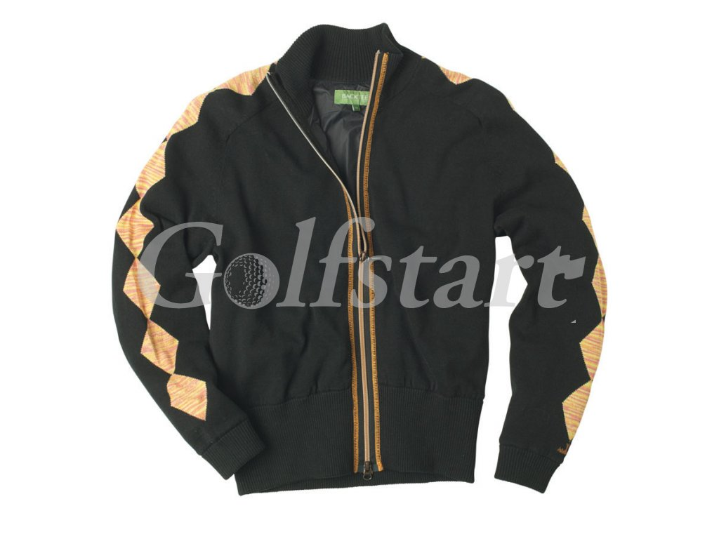 BackTee dámský golfový svetr do větru - černý