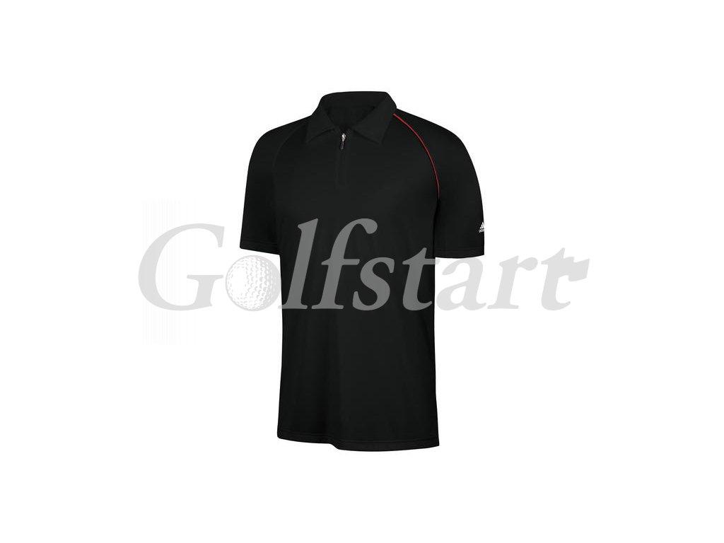 Adidas junior golfové tričko ClimaCool - černé