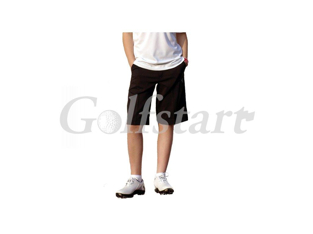 Puma dětské golfové kraťasy - černé