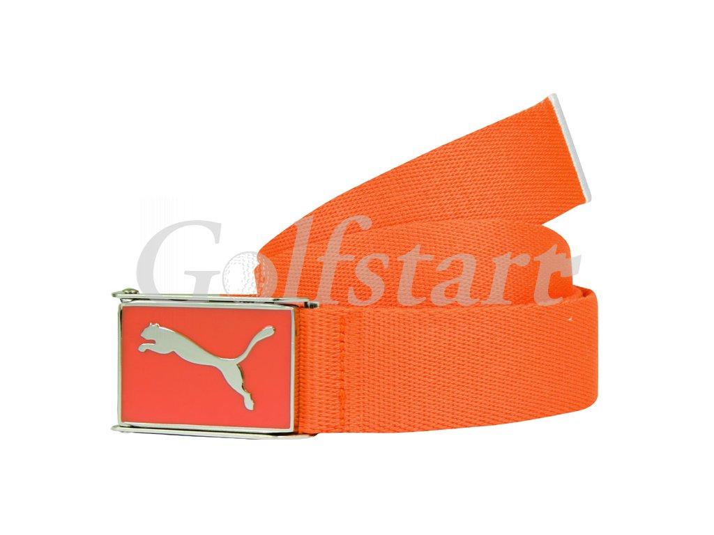 Puma Junior Cuadrado Web golfový pásek oranžový