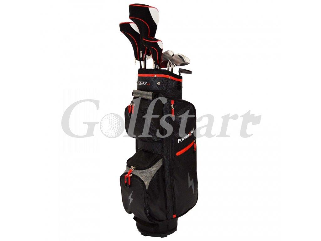 PowerBilt TPX pánský golfový full set, grafit, pravý