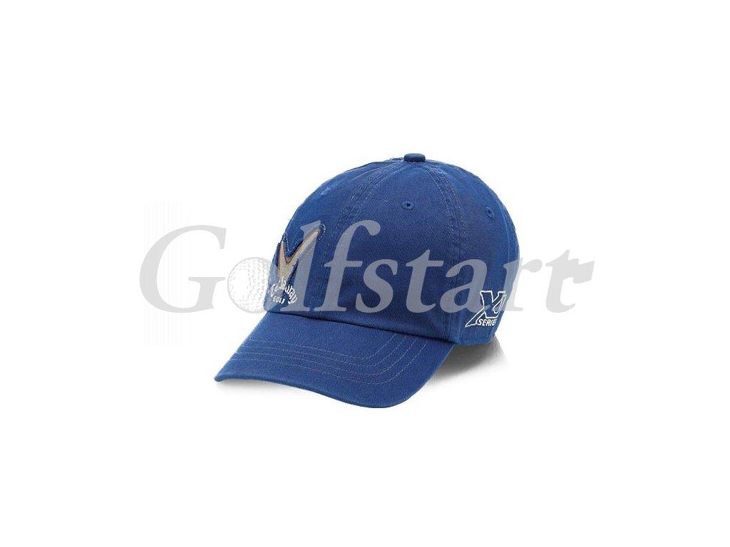 CW junior cap blue
