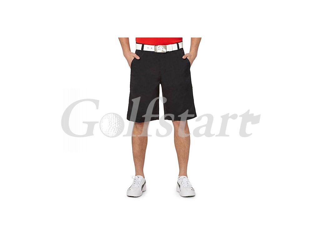 Puma Golf Tech short černé kraťasy