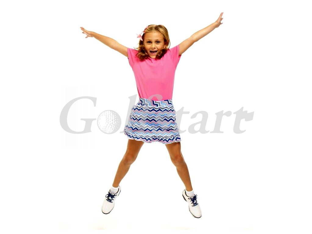 Girl Hipster Junior Pull On Tech Skort