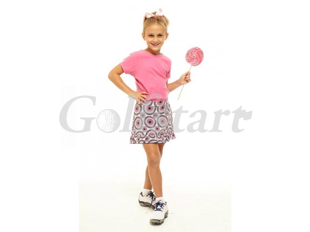 Golftini Girl Party Time dívčí golfová sukně
