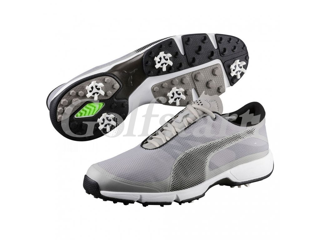 puma ignite drive sport golf shoes drizzle black white