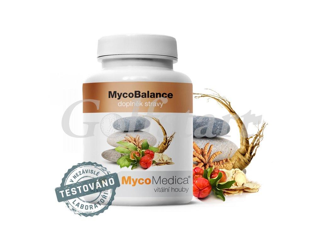 MycoBalance - Směs pro podporu vitality, životní síly a imunity 90x 500mg
