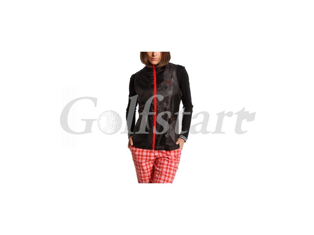 Puma dámská golfová vesta do větru - Windbraker černá