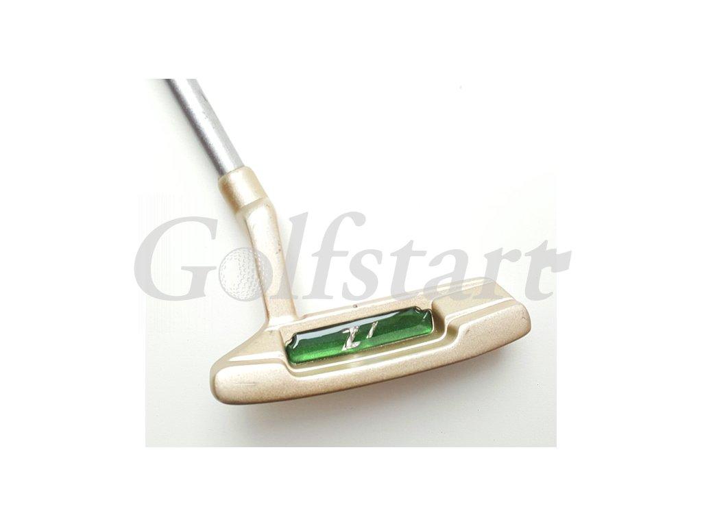 Kids golf dětský putter Z1 na pravou stranu věk 4+ zelený