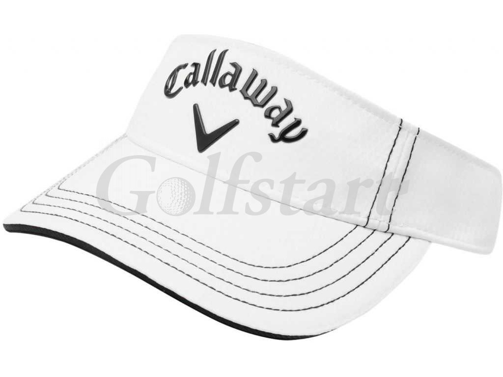 Callaway Liquid Metal Golf Visor Mens White