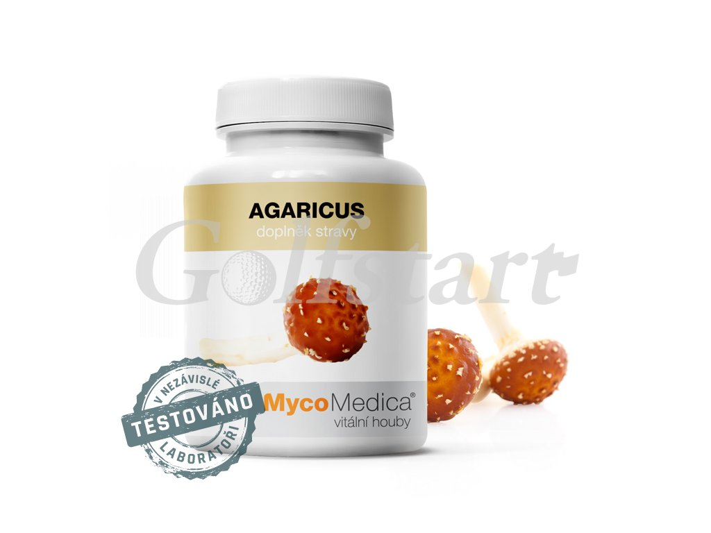 Agaricus v optimální koncentraci 90 x 500mg