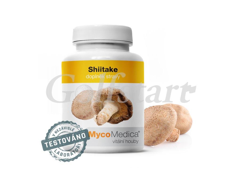 Shiitake v optimální koncentraci 90 x 500mg