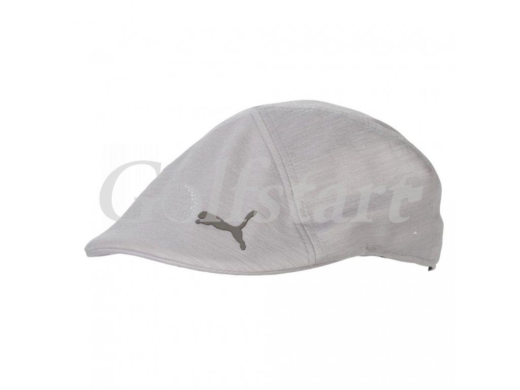 Puma Drive Cap golfová bekovka světle šedá