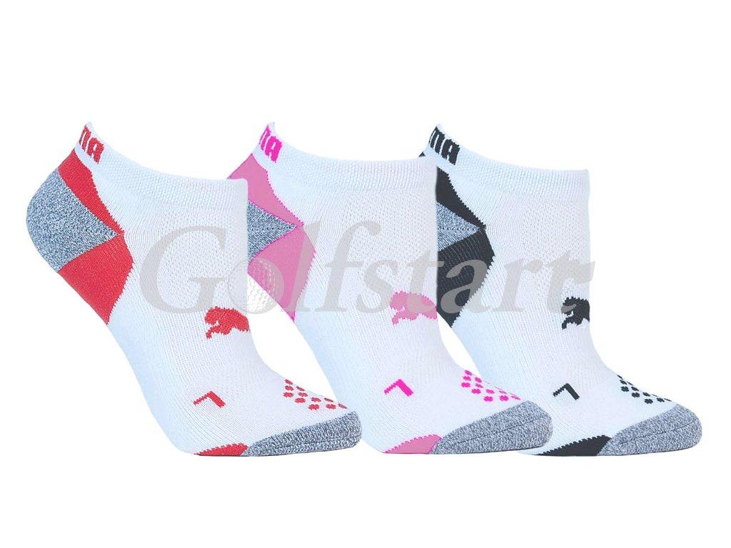 283426b8b7d Puma Pounce low cut dámské golfové ponožky 3 páry 36-40 - Golfstart.cz