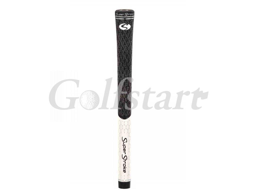 Super Stroke grip TX1 half cord v bílo černé