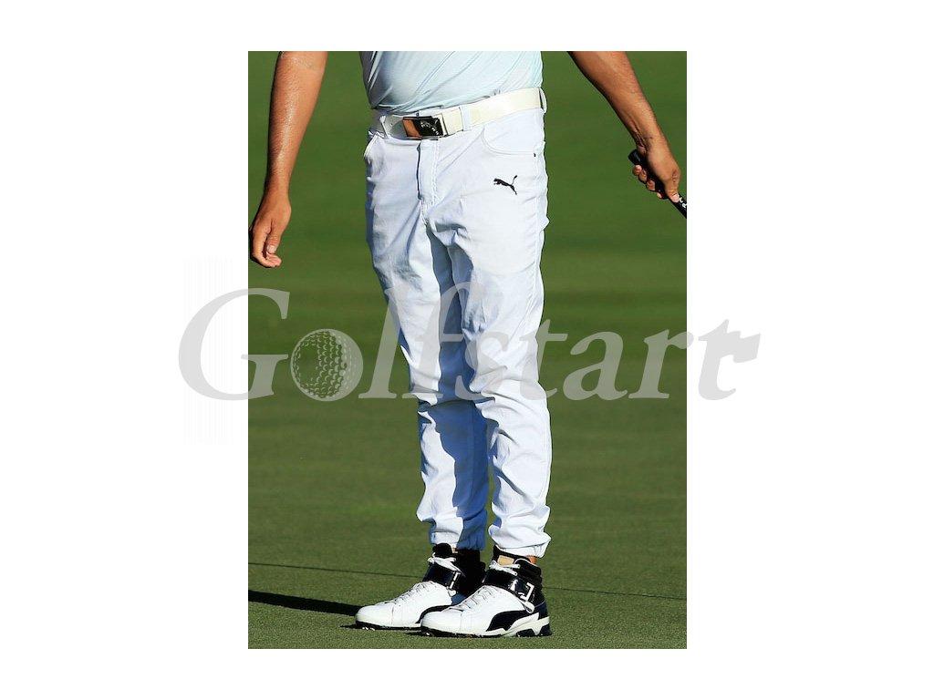 12946bPuma juniorské kalhoty Jogger šedé