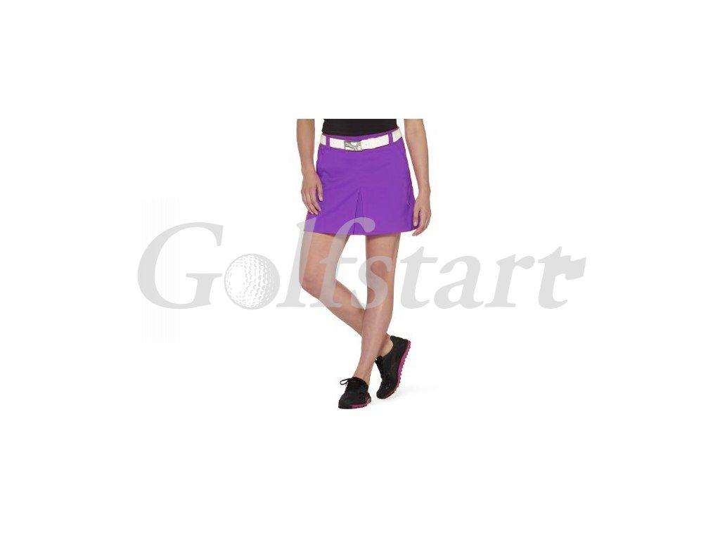 Puma dámská golfová sukně fialová