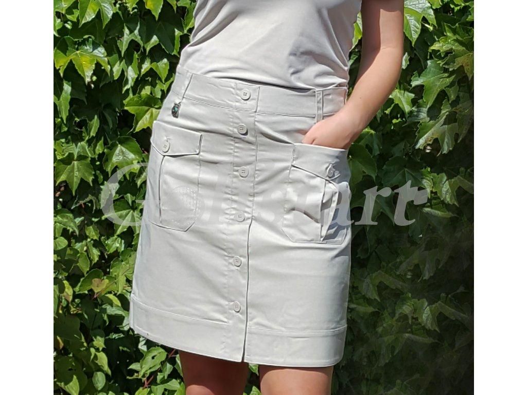 Röhnish master dámská golfová sukně béžová