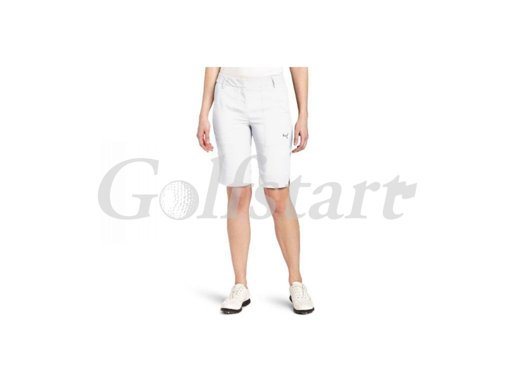 Puma dámské golfové kraťasy bílé letní