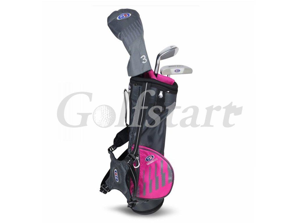 US KIDS Golf dětský golfový set 3-4 roky pro holčičku LH