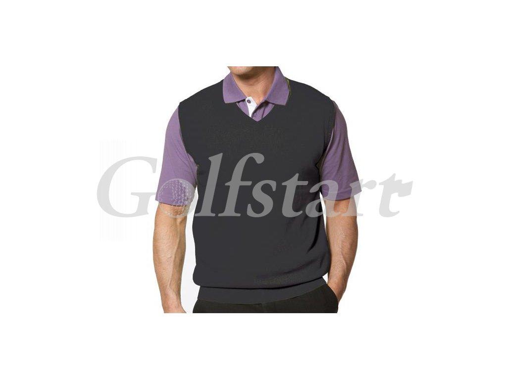 FootJoy pánská golfová vesta antracitová